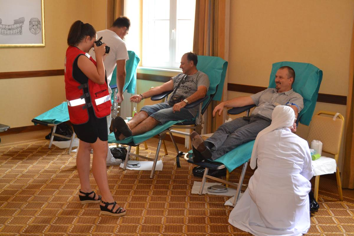Dobrovoljno darivanje krvi u Hilton Imperialu
