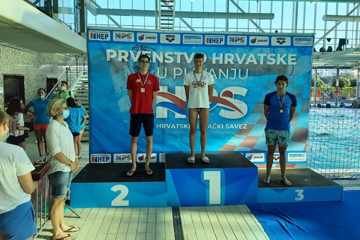 PRVENSTVO HRVATSKE U PLIVANJU Šurković, Brassard i Barčot doplivali do medalja